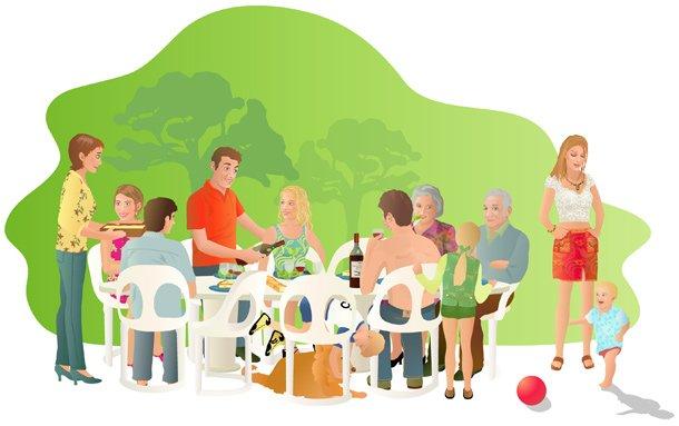 Repas au chaudron koz ek moin for Idee repas convivial en famille